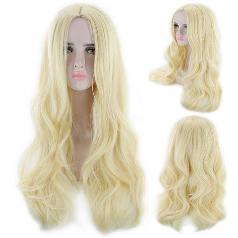 Popular Personality Color Woman Wig - GOLD