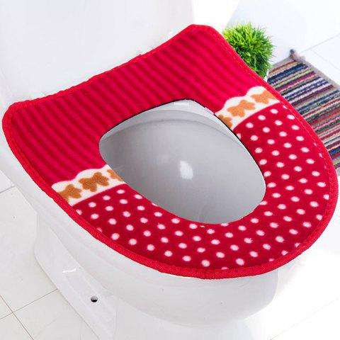 M40 Toilet Seat Cushion - RED 1PC