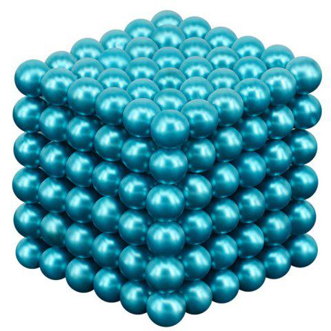 216 Super Strong Magnetic Round Ball Toy 5mm - LIGHT AQUAMARINE
