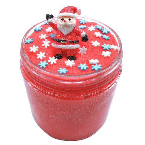 Colorful Christmas Thousand Silk Mud Decompression Toy - ROSSO RED