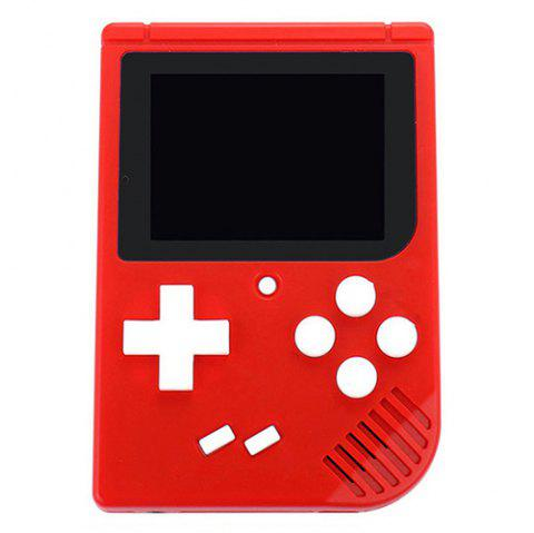 Classic Nostalgic Retro Handheld Upgrade Mini FC Game Console - RED