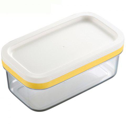 Sealed Rectangular Butter Storage Box - TRANSPARENT