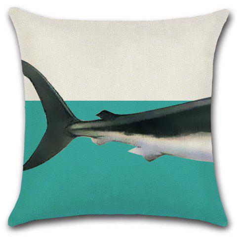 Animal Combination Creative Elephant Whale Dinosaur Shark Cushion Pillowcase - WHITE 03
