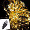 USB 10m 100 Waterproof Christmas Lantern 5V - Silver Line Decorative String Light - WARM WHITE