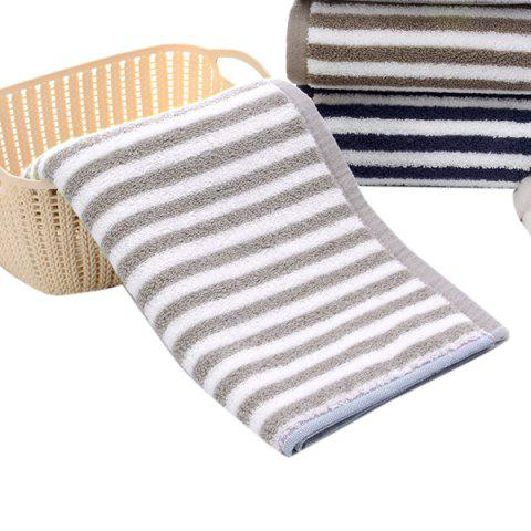Thick Cotton  Strong Absorbent Adult Wash Towel - GRAY GOOSE