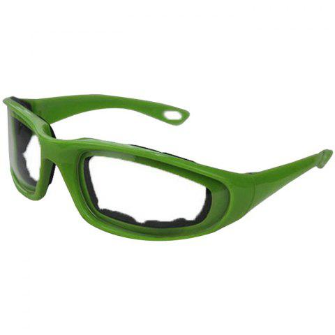 Kitchen Protective Cut Onion Special Glasses - SEA TURTLE GREEN
