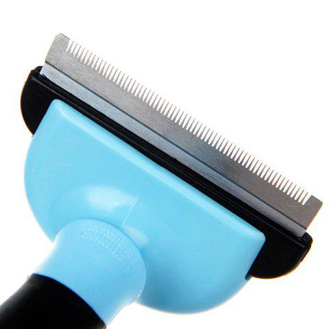 Pet Beautiful Removal Hair Comb - DODGER BLUE