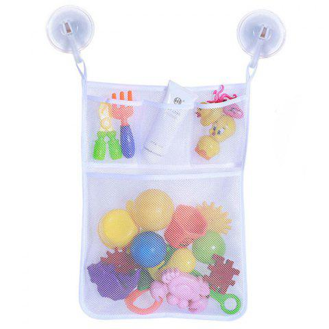 Children's Toy Storage Hanging Bag - WHITE