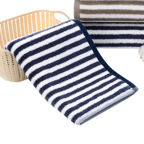Thick Cotton  Strong Absorbent Adult Wash Towel - CADETBLUE