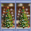 Background New Year Christmas Tree Wall Sticker - GREEN ONION