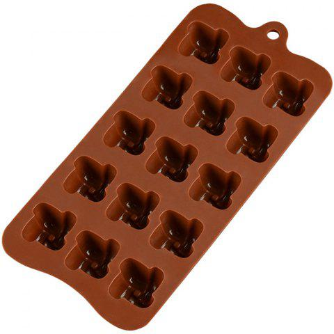 Small Windmill Chocolate Mould Pudding Mold - LIGHT BROWN