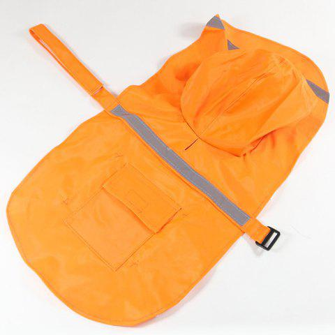 Imperméable animal créatif utile simple - Orange S