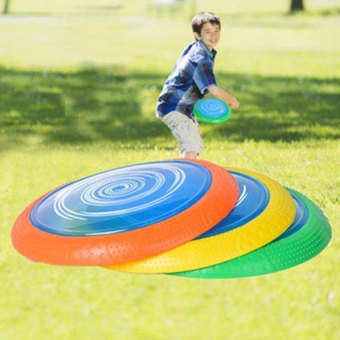 Round Soft Disc Outdoor Game Fall-resistant Sports Toy - YELLOW