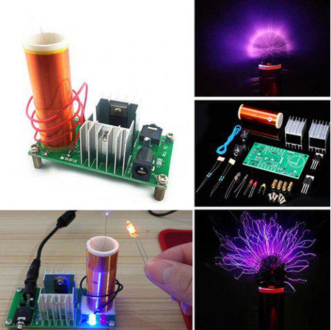Fun Electronic DIY Parts Tesla Coil Kit - multicolor A WITHOUT POWER SUPPLY