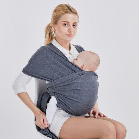 Baby Travel Multicolor Sling - CARBON GRAY