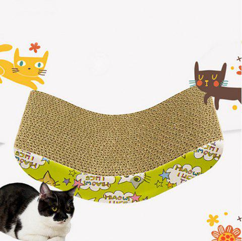 Pet Toy Claws Interactive Toy Cat Litter - CAMEL BROWN