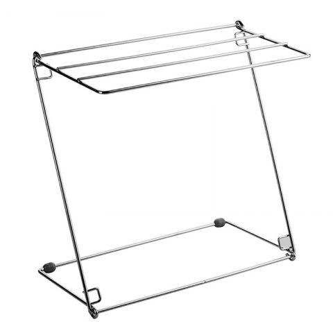 Foldable 304 Stainless Steel Drying Rack - SILVER
