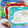 Children's Magical Monochrome Water Canvas Writing Blanket Graffiti Baby Educational Toys - CHERRY RED