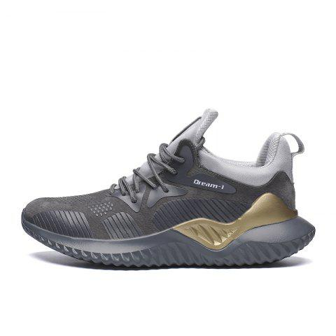 Men Outdoor Skid-proof Leisure Sports Shoes - GRAY EU 43