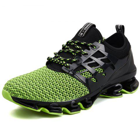 Casual Outdoor Sports Shoes Men Sneaker - GREEN EU 42