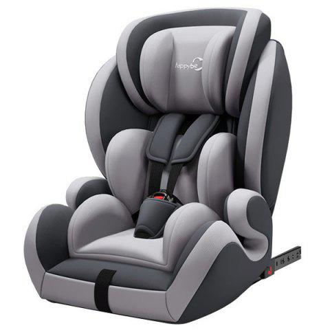 HAPPYBE YB706A Child Safety Seat AIO All-inclusive for Car - GRAY