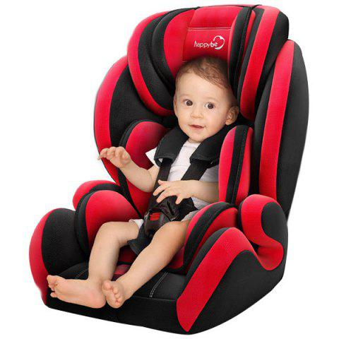 HAPPYBE YB706A Child Safety Seat AIO All-inclusive for Car - RED