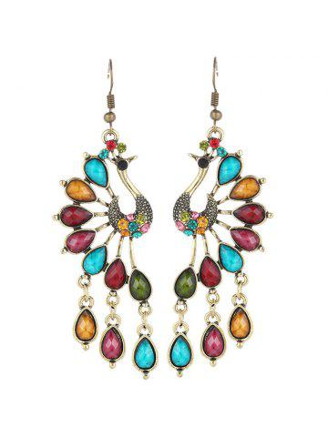 2019 Peacock Earrings Online Store. Best Peacock Earrings For Sale ... 77a2b2d97be5