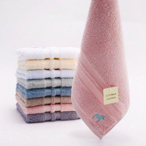 Egyptian Thickened Pure Cotton Towel - PINK