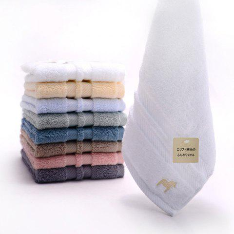 Egyptian Thickened Pure Cotton Towel - WHITE