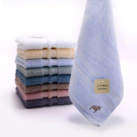 Egyptian Thickened Pure Cotton Towel - LIGHT BLUE