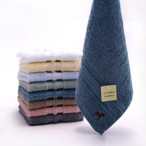 Egyptian Thickened Pure Cotton Towel - SILK BLUE