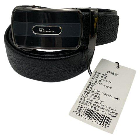 Banlear Business Casual Men Belt - BLACK
