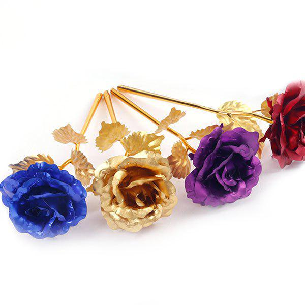 Valentine's Gilded Rose Gift 4pcs - multicolor 25 X 8CM