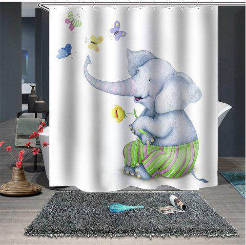 Fashion Boutique Anime Pattern Shower Curtain