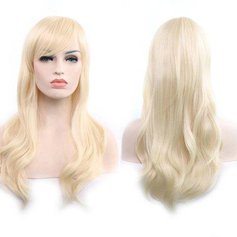 Anime Europe America 70cm Long Curly Wig Hair - BLONDE