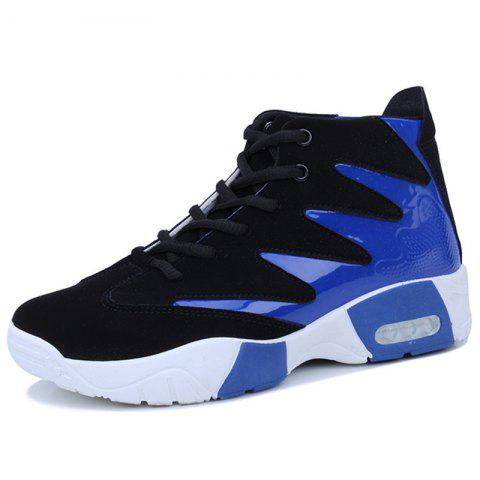 Sneakers Thick-soled Cushioned Shoes for Men - BLUE EU 41