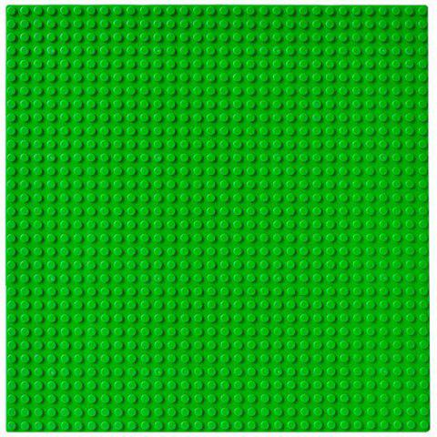 Children's Educational Toy Small Particles Splicing Block - GREEN