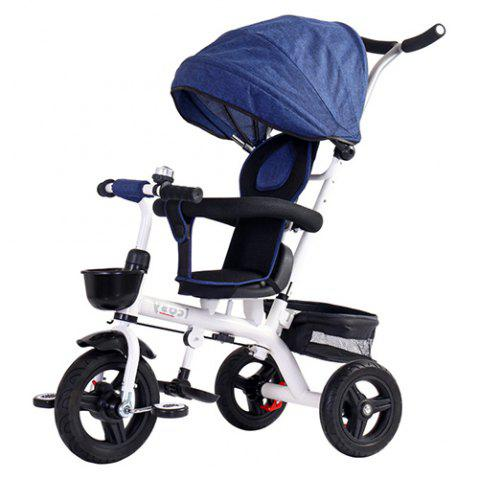Lightly Tricycle Bicycle Baby Trolley Stroller - BLUEBERRY BLUE