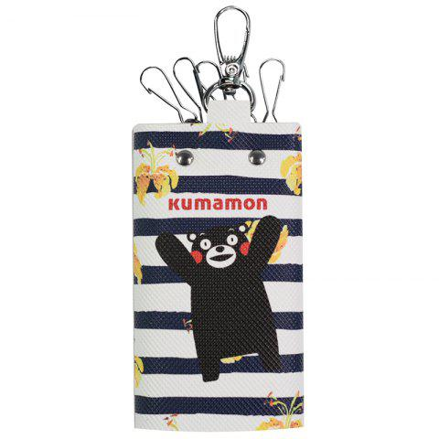 KUMAMON Lovely Daily Cartoon Keychain - MIDNIGHT BLUE