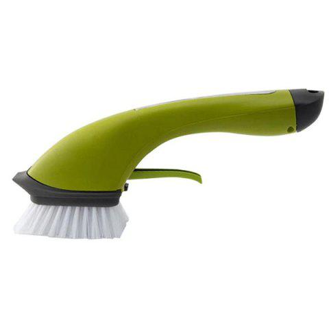 Clean Pot Brush Multi-functional Cleaning Machine - GREEN ONION