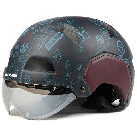 GUB V3  Half-covered Helmet for Electric Car Skateboard - multicolor M