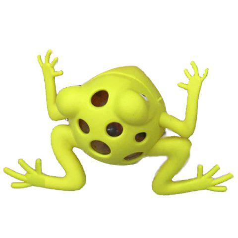 Vent Frog Simple Squishy Toy - GREEN YELLOW