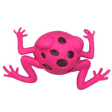Vent Frog Simple Squishy Toy - HOT PINK