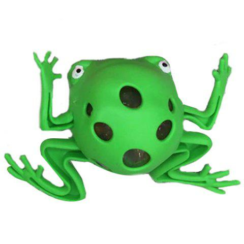 Vent Frog Simple Squishy Toy - GREEN APPLE