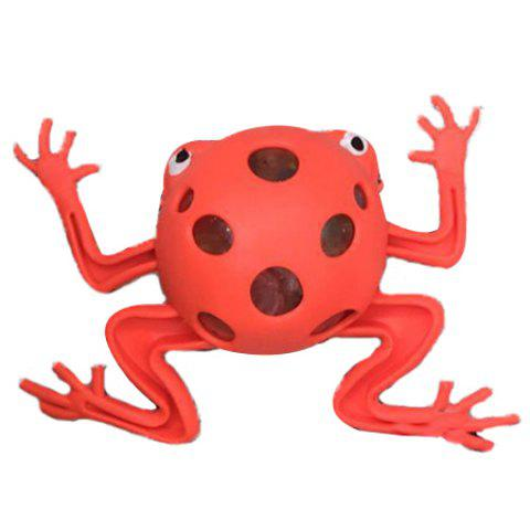 Vent Frog Simple Squishy Toy - RED