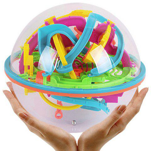 Labyrinth 3D Magic Ball Intelligent Toy - multicolor 925A - 138