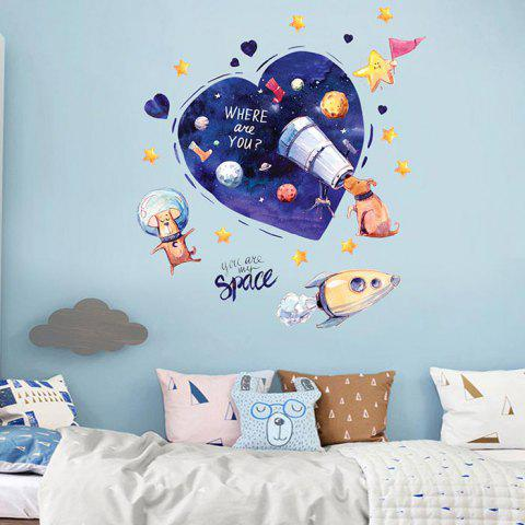 JM7364 Children's Bedroom Decoration Wallpaper - COBALT BLUE