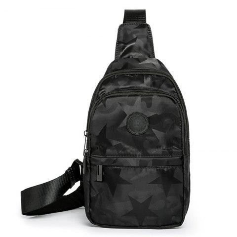 Men's Fashion Trend Casual Sports Chest Bag - WOODLAND CAMOUFLAGE