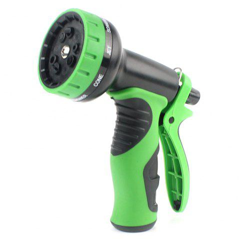 Garden Multi-function High-pressure  Function Spray Wash Car Tool - GREEN