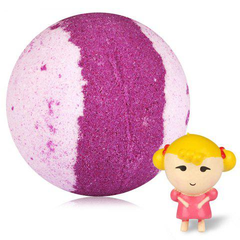 Floating Water Type Explosion Essential Oil Bath Salt Ball - multicolor